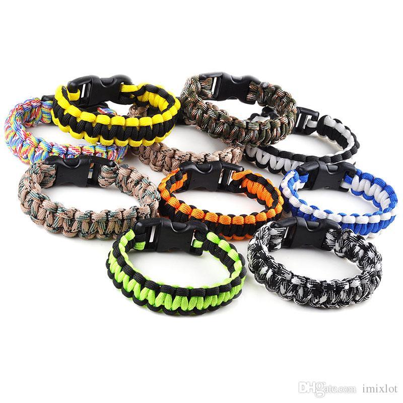 2018 Hot Fashion Survival Bracelet 550 King Cobra Paracord Bracelets