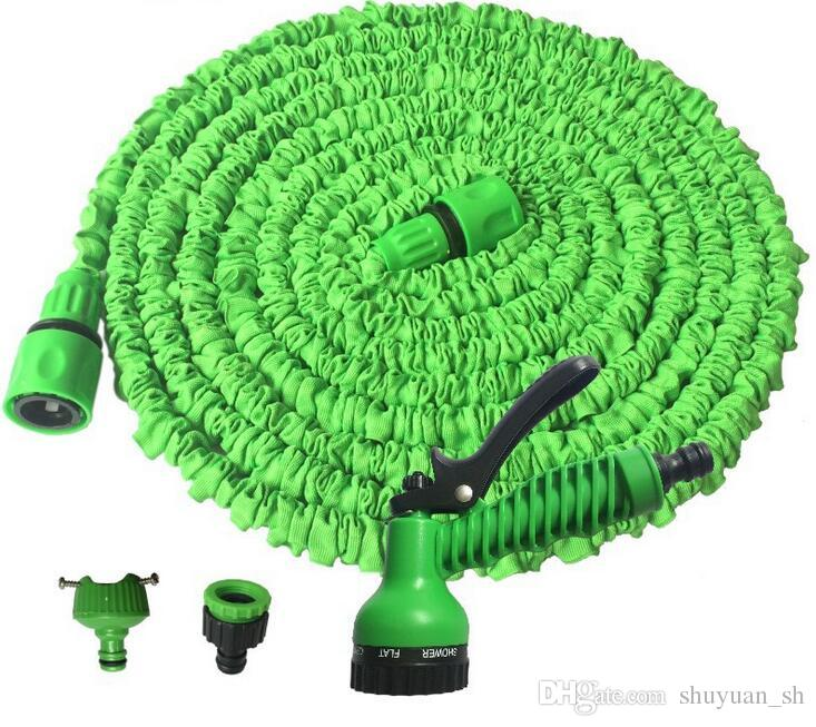 Expandable Flexible Hose Green Blue Water Garden Pipe With Spray Nozzle 25FT 50FT 75FT 100FT 125FT 150FT Hose Water Pipe Expandable Water Pipe Online with ...  sc 1 st  DHgate.com & Expandable Flexible Hose Green Blue Water Garden Pipe With Spray ...