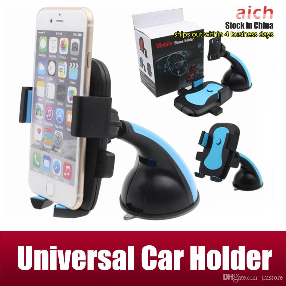 newest collection 98923 b27a4 For Iphone 6 Universal Car Holder iphone car Holder adjustable For Smart  Phone PDS GPS PSP Camera Recoder With Retail Box