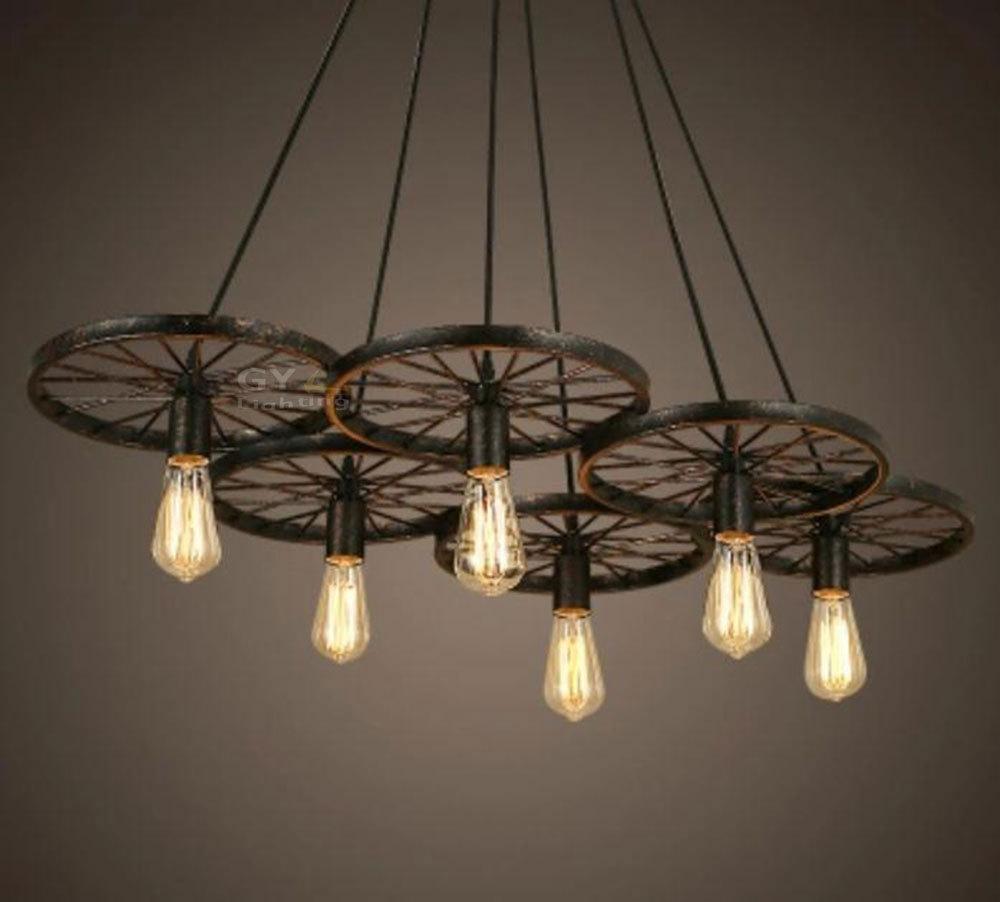 Creative industrial lamps -