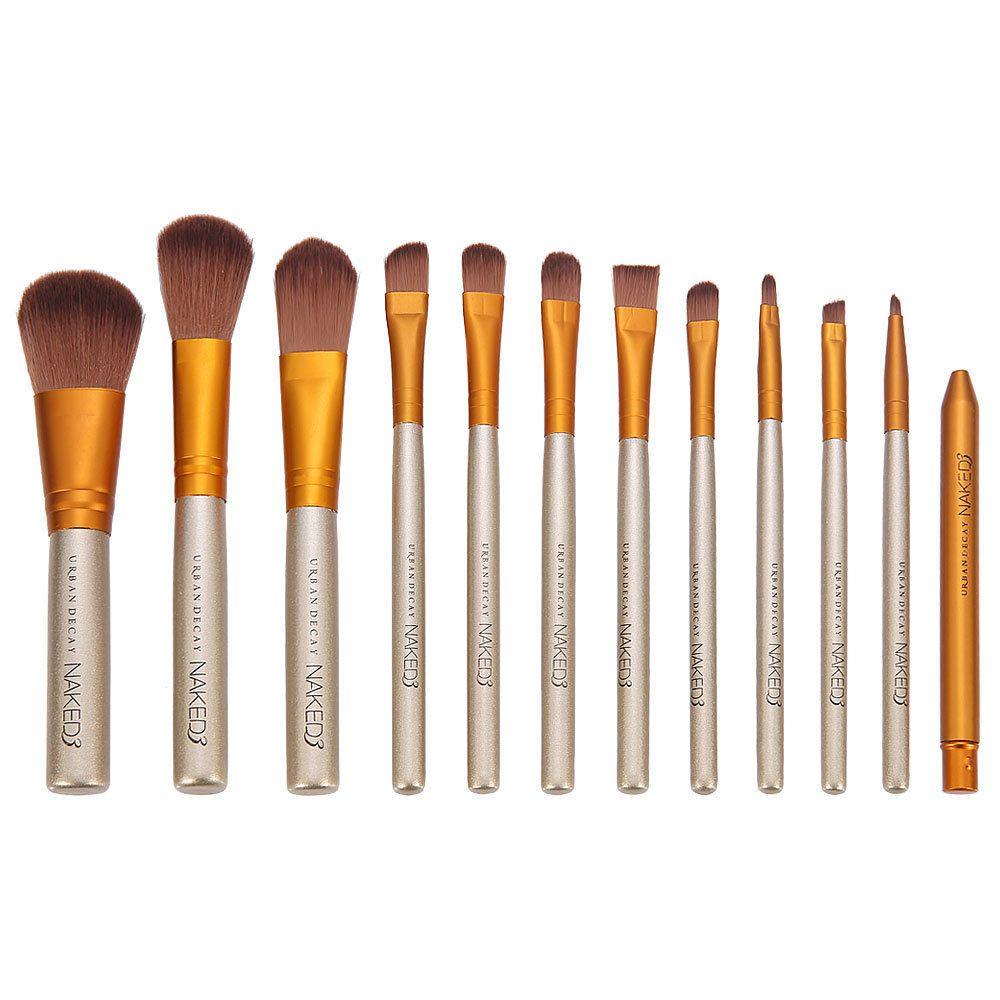 Großhandel Neue 12 Stücke Make Up Kosmetik Pinsel Set Powder