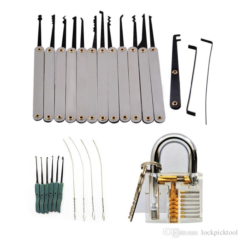 10pcs GOSO Hook Pins Broken Key Removal Sets Locksmith Tool