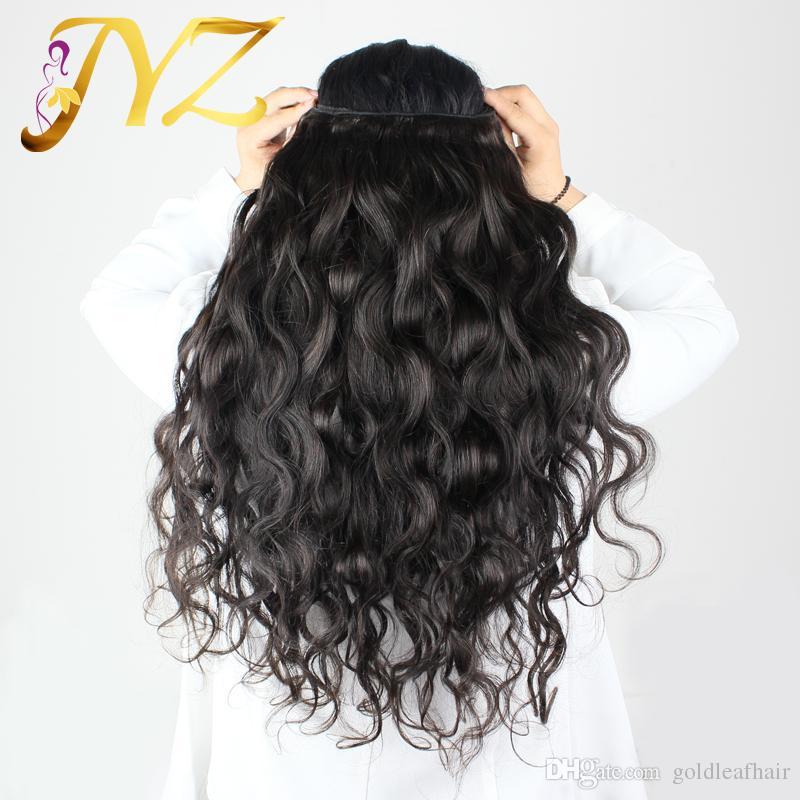 Großhandel Billig Unverarbeitete Haar Brasilianische Körperwelle Haareinschlag 3 Stücke 8-30 Goldleaf Haar Produkte Dhl-freies Verschiffen