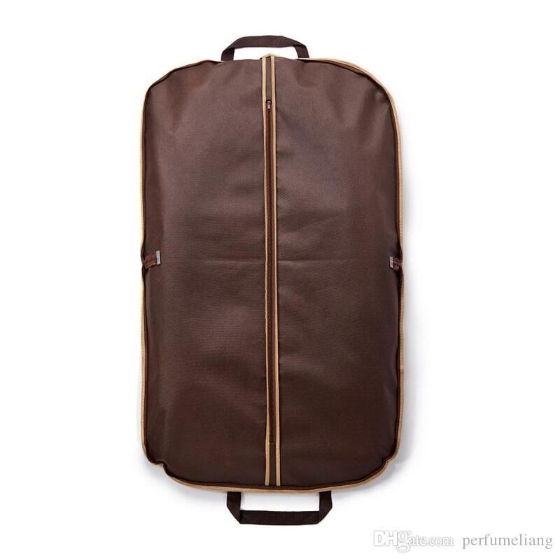 블랙 코트 의류 의류 복장 커버 가방 방진 옷걸이 스토리지 수호자 여행 스토리지 주최자 케이스 ZA4234