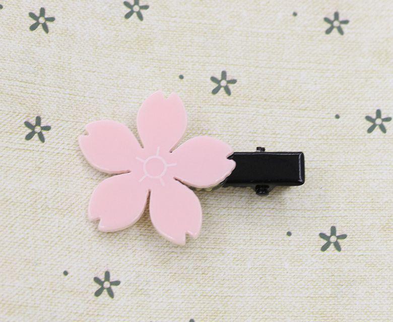 schöner und netter koreanischer Kirschenhaarnadel-Kopfschmuck Kinderhaarzusatzblumen-Haarring /