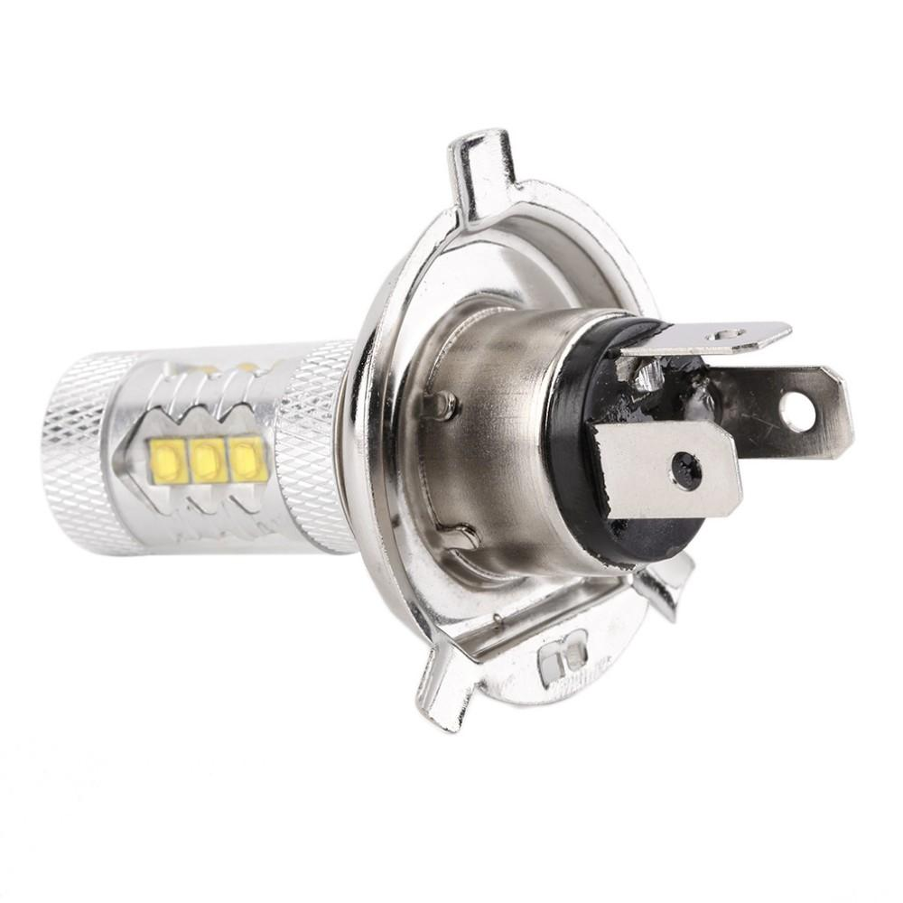 H4 80 Вт Cree LED автомобилей противотуманные фары H4 светодиодные лампы фары лампы авто светодиодные лампы автомобиля источник света автомобиля парковка 12 в 6000 К ксенон Белый