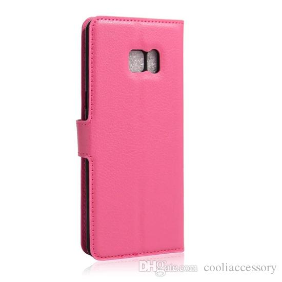 Litchi Wallet Leather Case For Iphone 12 6.1'' 11 PRO MAX XS X XR 8 7 6 Plus 6S Samsung M31 NOTE 10 J5 2017 Flip Stand ID Card Leechee Cover