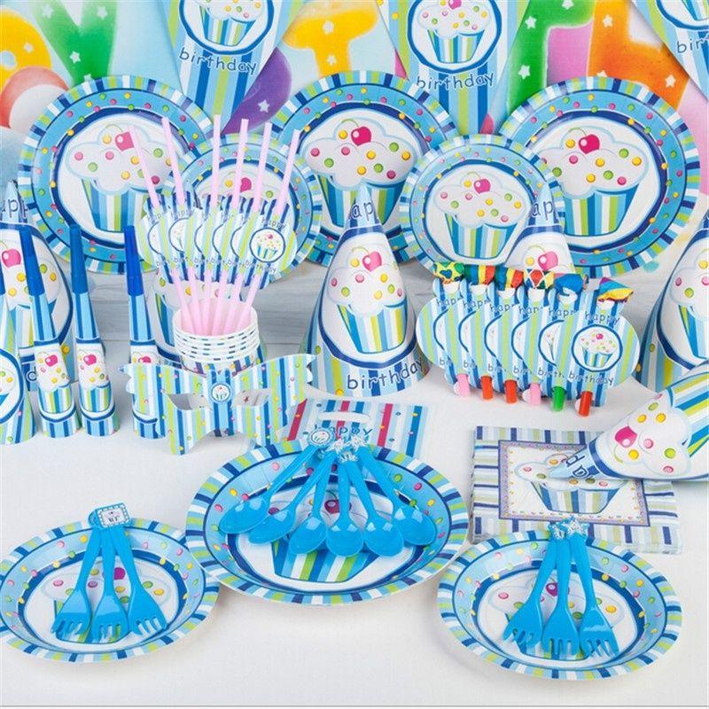 Grosshandel 2017 Luxus Kinder Geburtstagsparty Dekoration Set Princess Prince Eis Thema Partei Liefert Pack Cupcake Stand 78 Teile Satz Von Dannymeng
