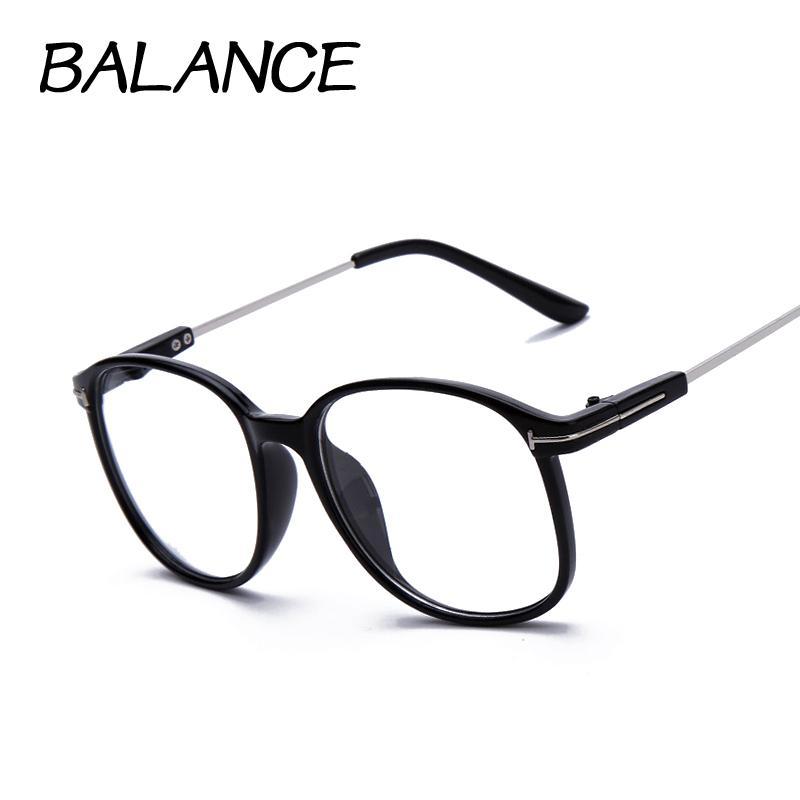 18cda7176e473 Wholesale- Men Women Retro Vintage Optical Frames High Quality ...