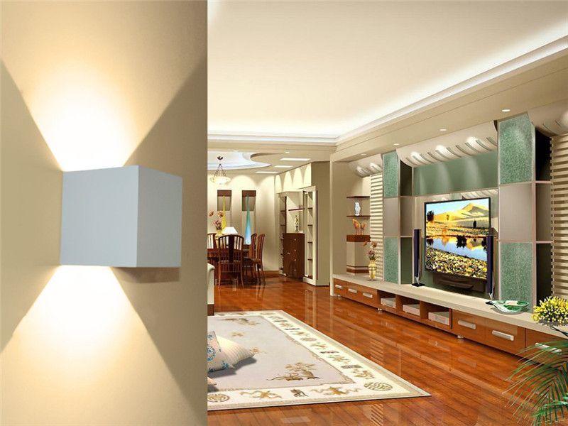 Yeni COB 7 W 12 W LED Alüminyum Duvar Aplikleri Ayarlanabilir Açı Yüzeye Monte Açık Küp Lamba Led İç Duvar Lambası Yukarı Aşağı Duvar Işıkları