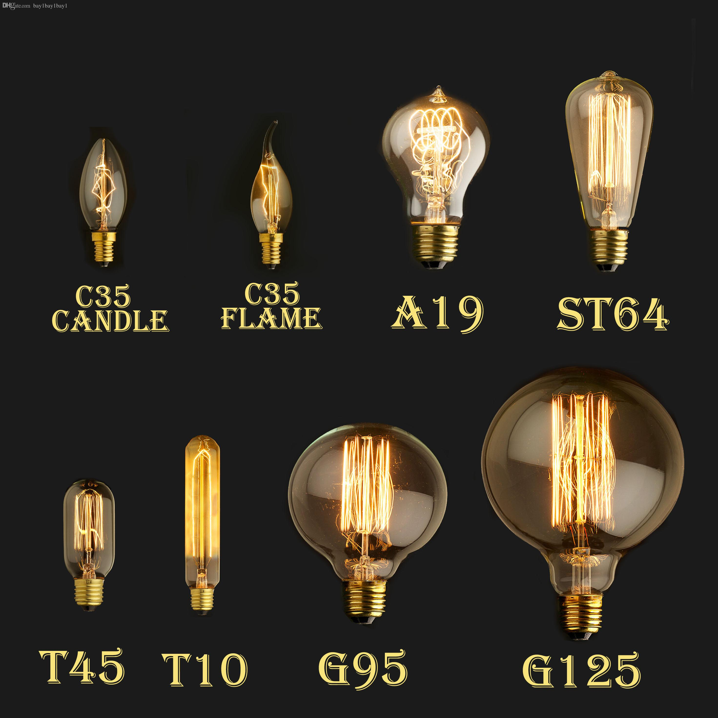 60w 40w vintage antique retro style lighting filament edison lamp see larger image arubaitofo Choice Image