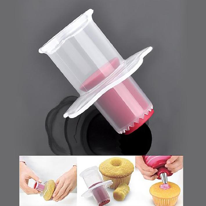 Cupcake Corer Muffin Cup Cake Hole Digger DIY Cake Cored Device CupCake Pastry Decoration Tool