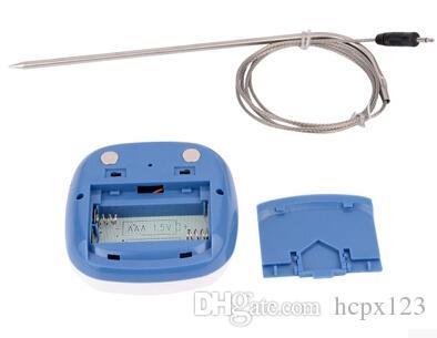 Ücretsiz posta doğrudan / açık barbekü mutfak gıda termometre zamanlayıcı alarm ile Marca ejderha gıda elektronik haşlanmış şeker termometre