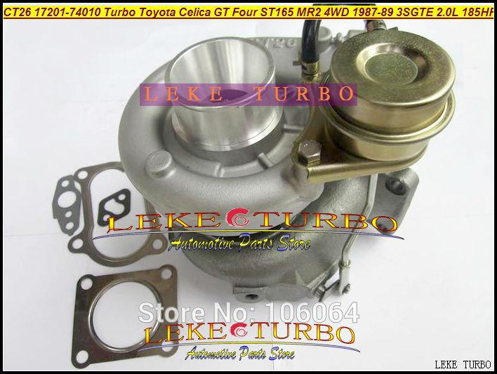 CT26 17201-74010 Turbo Turbocharger For TOYOTA Celica GT Four ST165 MR2 4WD 1987-89 3SGTE 2.0L 185HP 204HP (6)