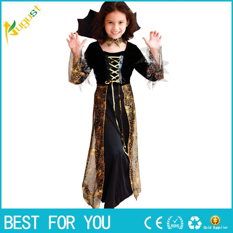 2015 New Beautiful Spider Girl Children Cosplay Costume Hallowean Party  Witch Costumes For Kids Cute Dresses Easy To Make Halloween Costumes Baby  Halloween ...