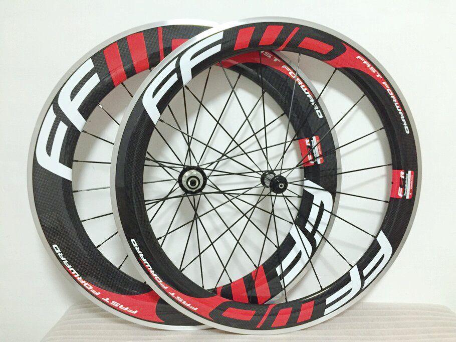 ffwd Front 60mm + Rear 88mm Fast Forward Alloy road bike wheelset Carbon clincher no logo wheelset