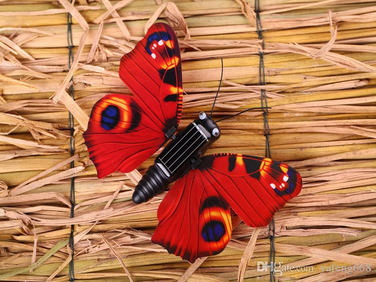 Solar Butterfly educational children's toys diy toys small gifts Small decorations