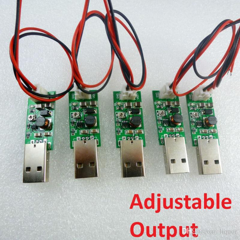 5x 1Mhz Step-up Current Mode PWM Conveter USB 3.7V 4.2V 5V to DC 6V 7V 8V 9V 10V 11V 12V 13V 14V 15V Output Power supply module