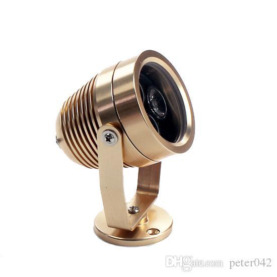 3x1W ao ar livre impermeável LED inundação luz do ponto de mergulho lâmpada branco / branco quente