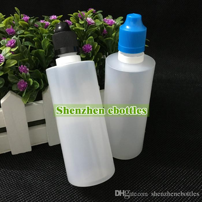 Wholesale bottles Colorful Tamper Evident Seal and Child Proof Cap Empty Bottle 100ml E Liquid Plastic Dropper Bottles with Long Thin Tips