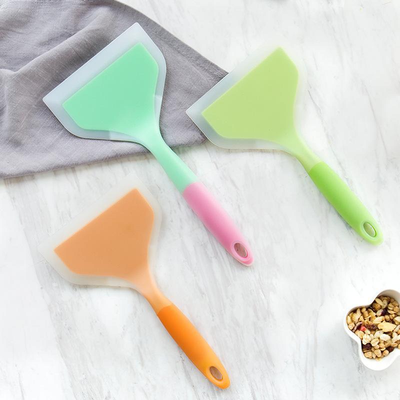 Silicone Spade Butter Cream Scraper Brush Flour Pizza High Temperature Resistance Shovel Kitchen Ware Easy Clean 11 2sd F R