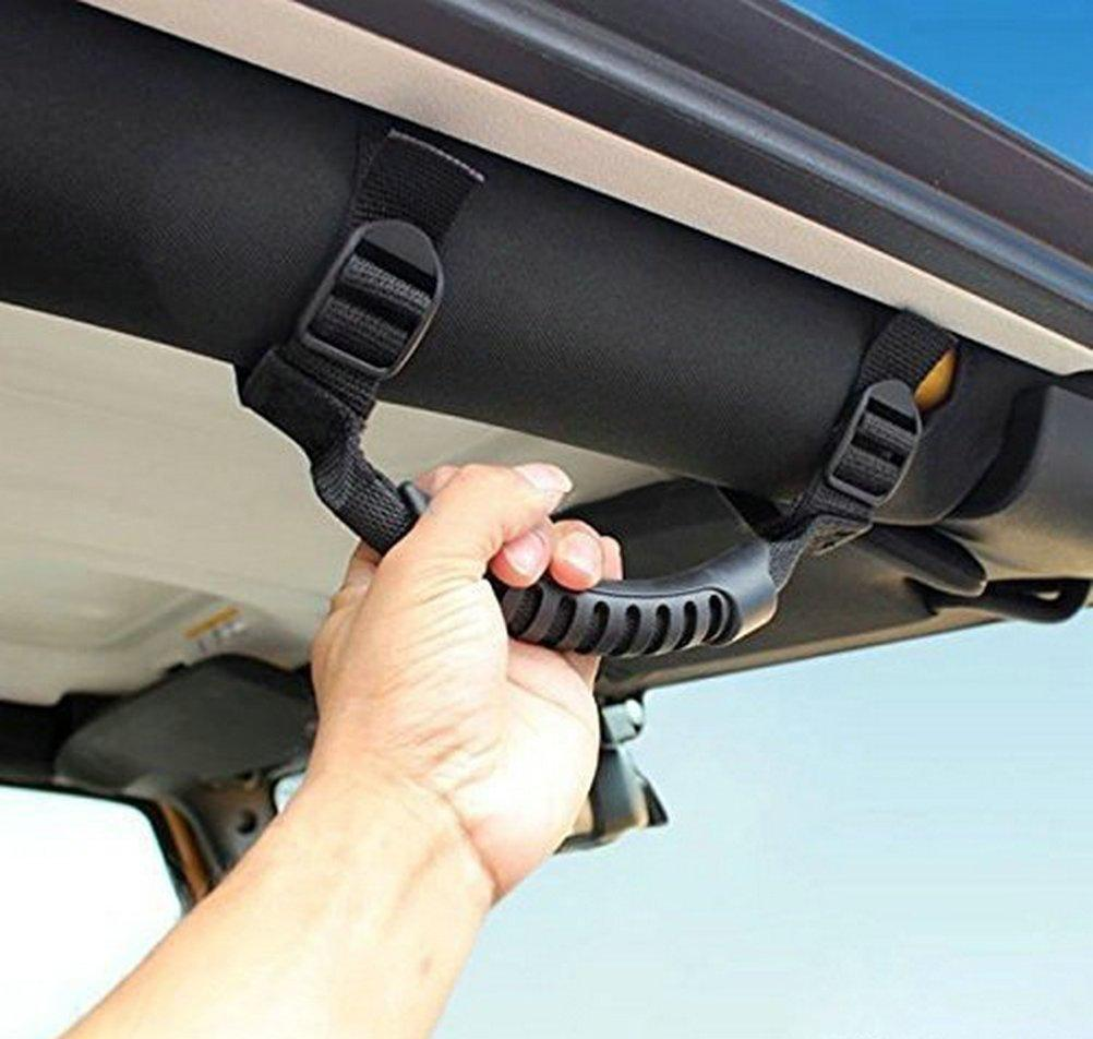 Car Grab Handles Grip Handle For Jeep Suv Roll Bar Cool