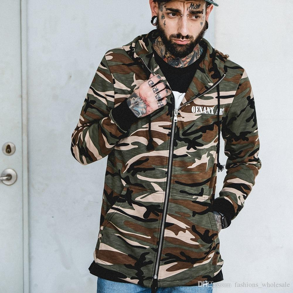 2018 2017 hight quality new men hip hop streetwear fashion hoodies kanye west camouflage cotton. Black Bedroom Furniture Sets. Home Design Ideas