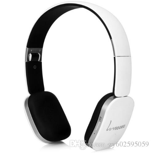 VEGGIEG V6800N Foldable Bluetooth V4.0 + EDR Hands Free Wireless Headset MP3 Music Bluetooth Headphone with Mic and Micro USB