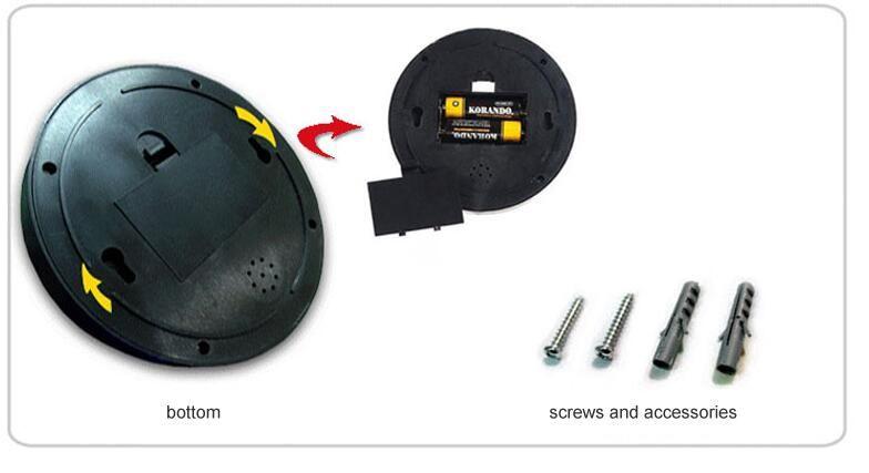 Kablosuz Ev Güvenlik Sahte Kamera Simüle video Gözetim kapalı / açık Gözetleme Kukla Ir Perakende paketi ile Sahte Dome kamera Led