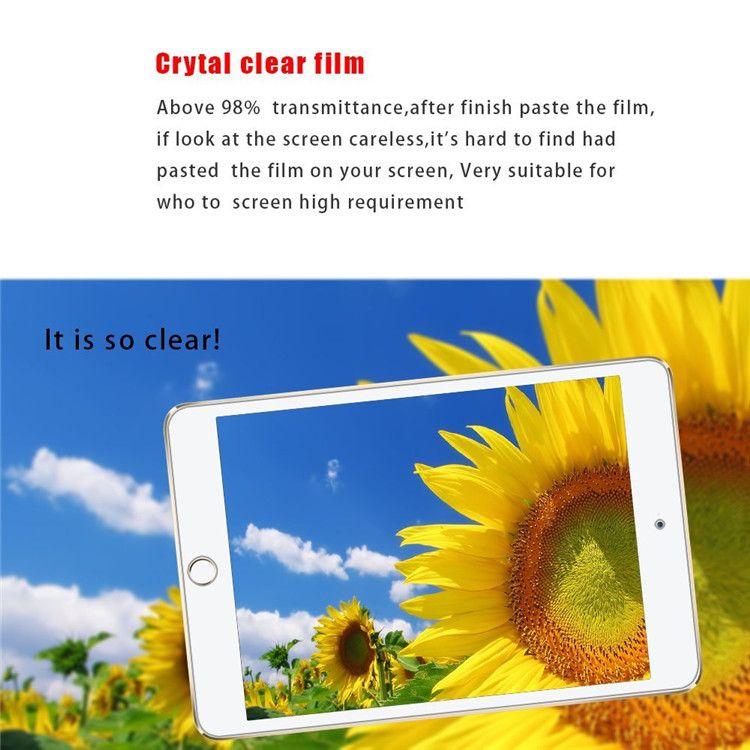 Clear LCD Pellicola salvaschermo Pellicola salvaschermo ipad air 2 3 4 mini 2 3 4 Pro 9.7 10.5 Pellicola protettiva