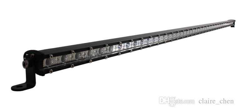144W 49inch mini cree led work light bar high power 12v spot/flood/combo car fog lamp led driving bar for truck SUV ATV