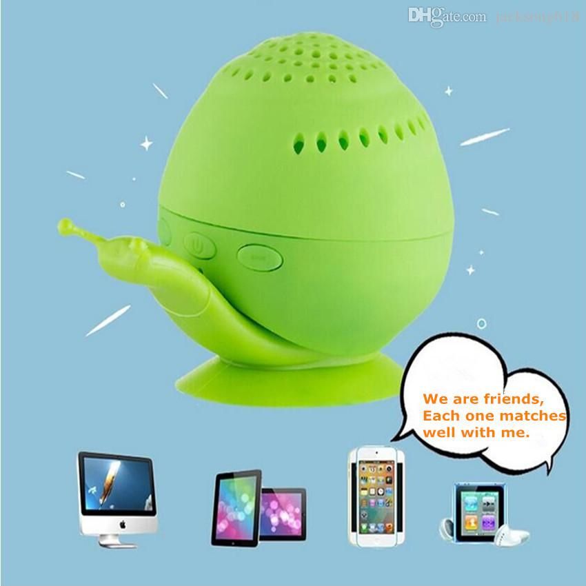 Hot Sale Snail Bluetooth Speaker Wireless Novelty with Mini Cell Phone Holder Bluetooth Speaker Sound box Wholesales