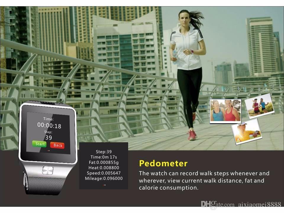 Smart HD Watch phone GV08 upgrade HD DZ09 Sync Smartphone Call SMS Anti-lost Bluetooth Bracelet Watch for Men Women