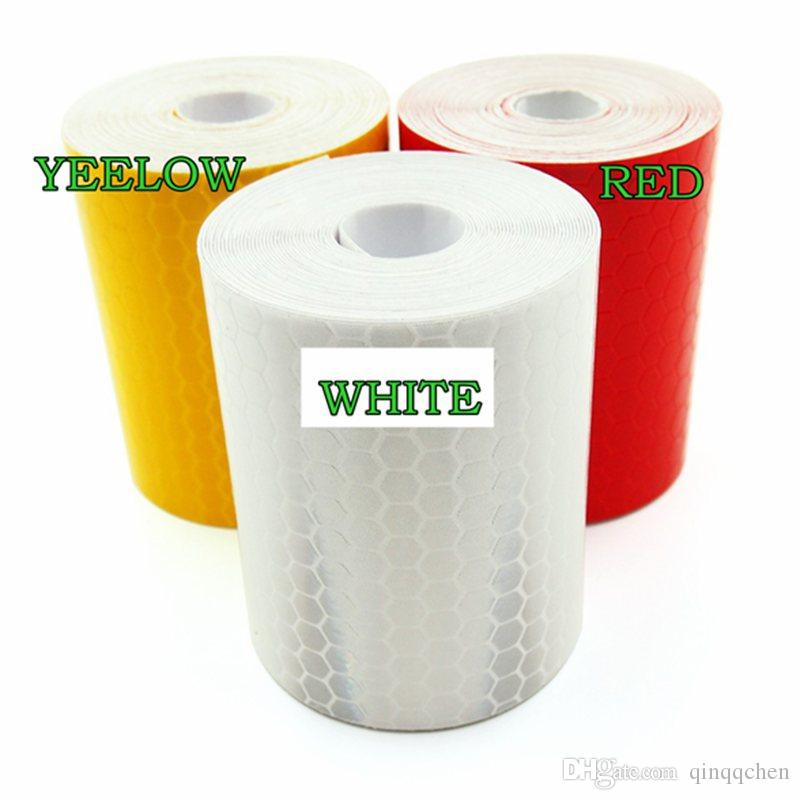 5cm*300cm Reflective Tape Stickers Car Styling For Automobiles Safe Material Warning Tape Automobiles Motorcycle Reflective Film