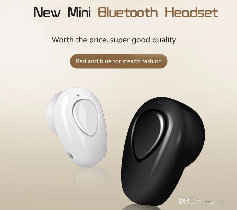 S520 mini bluetooth kopfhörer stereo drahtlose unsichtbare kleine kopfhörer super headset musik handfree für iphone samsung handy