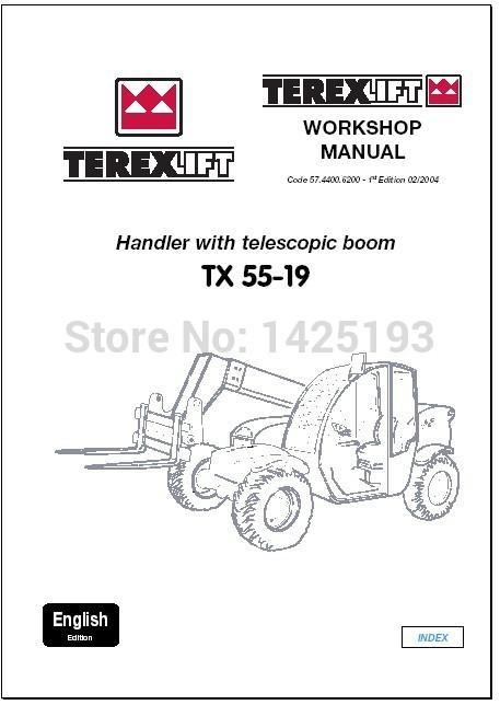 Tb60 terex Cranes Repair manual