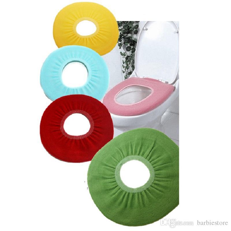 Coussins de siège souples Chauffe-salle de bains Toilette Fermoir Lavable E00002 BAR