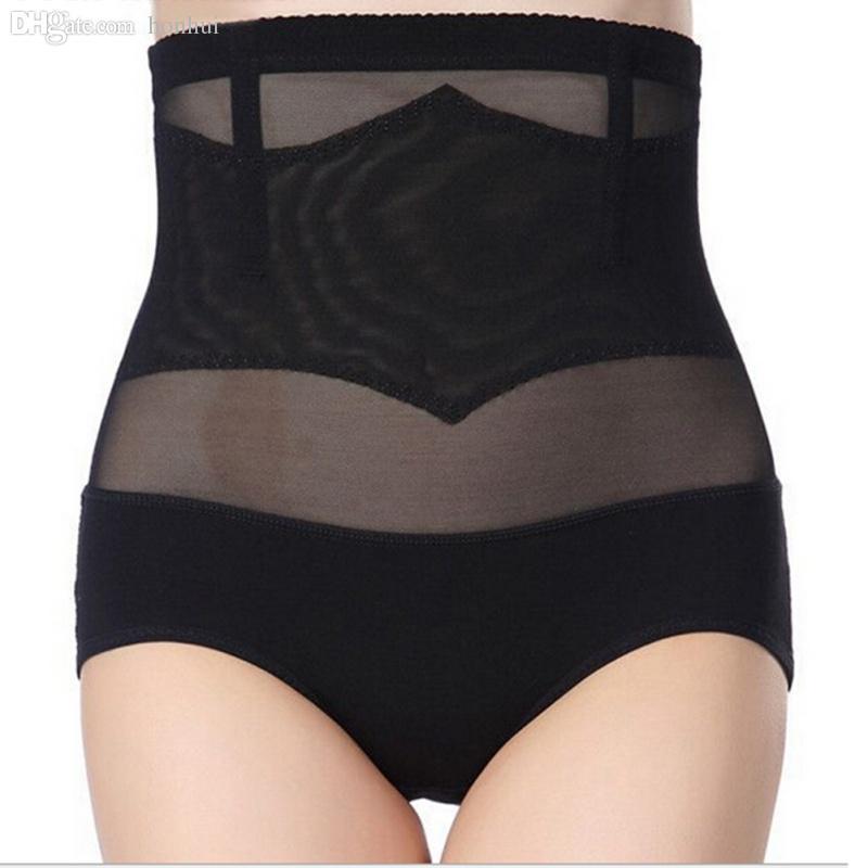 ffd485da89 2019 Wholesale Women High Waist Belly Underwear Body Shaper Corset Hip  Tummy Control Panty From Honhui