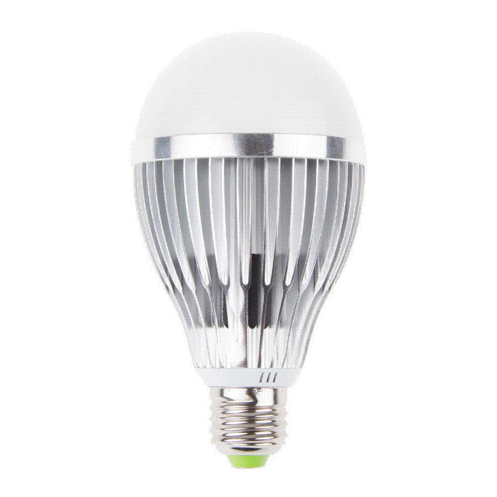 12W 12 LED Red and Blue Plant Grow Light Bubble Ball Bulb shape E27 85-265V LED plant Light Lamp Hydroponic Grow Bulbs