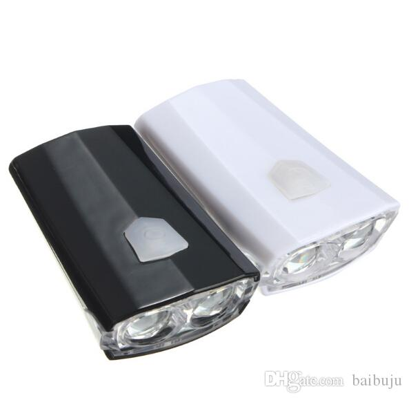 Rechargeable USB Cycling LED Front Head Rear Light Headlamp