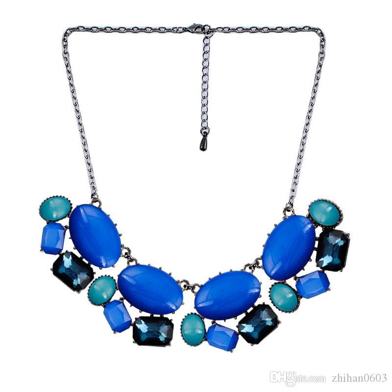 Summer New Fashion Jewelry una varietà di forme una varietà di colori Collana Collare Collana Accessori Accessori acrilici