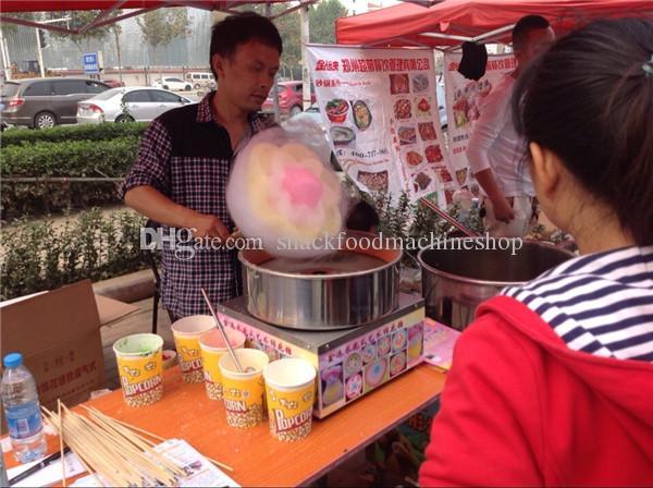 Otomatik pamuk şeker makinesi / çiçek pamuk şeker makinesi / pamuk helva makinesi / Çin'den elektrikli pamuk şeker makinesi suger satışı