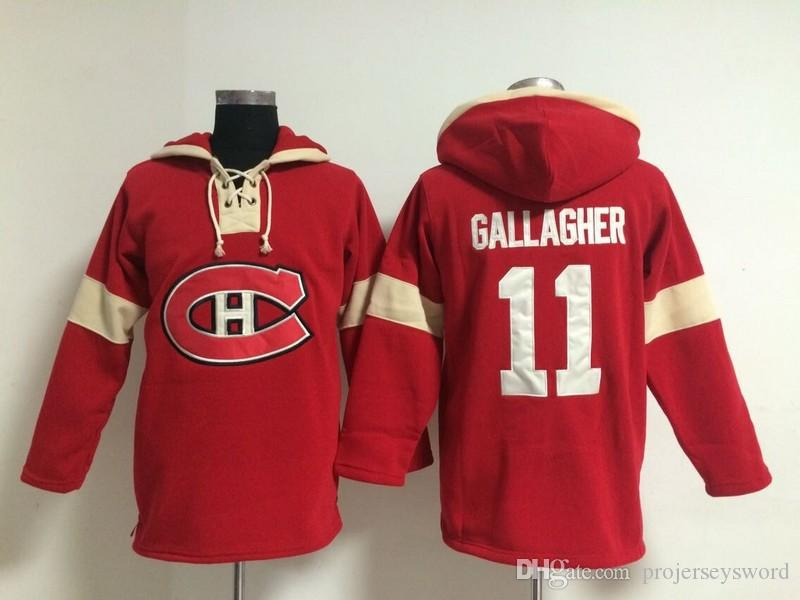 Youth Hockey Jersey Cheap, Montreal Canadiens Hoodie #31 Carey Price Stitched Embroidery Logos Hoodies Sweatshirts Any Name and Any Number
