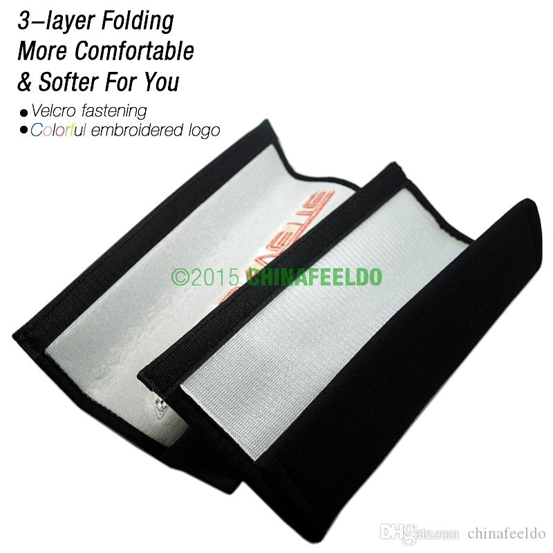 LEEWA for Car/Truck Seat Belt Cover Shoulder Pads guarantee quality,easy to install #3747
