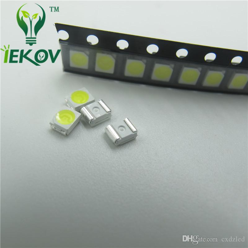 2835 0.2W SMD Warm White LED Super Bright Light Diode High Quality SMT Chip lamp beads Suitable for bicycle DIY