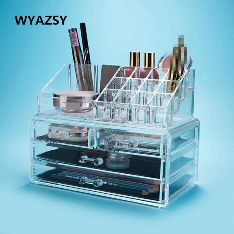 Best Selling Large Jewelry Box Drawers Acrylic Cosmetic Organizer