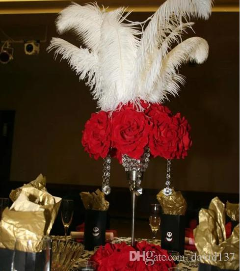 не включая цветыКристалл свадебные украшения цветок стенд для свадьбы центральным