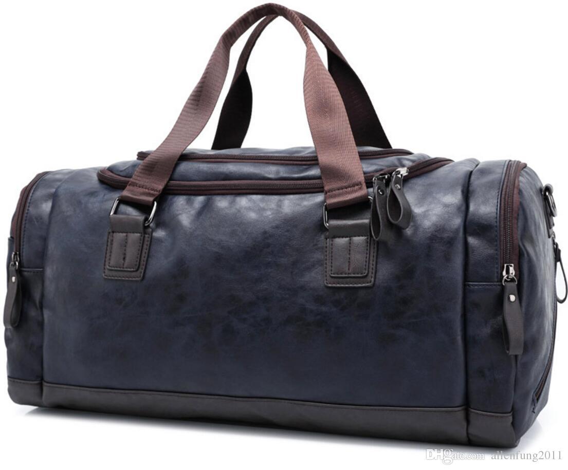 99e90c2388 Vintage Leather Sports Bag