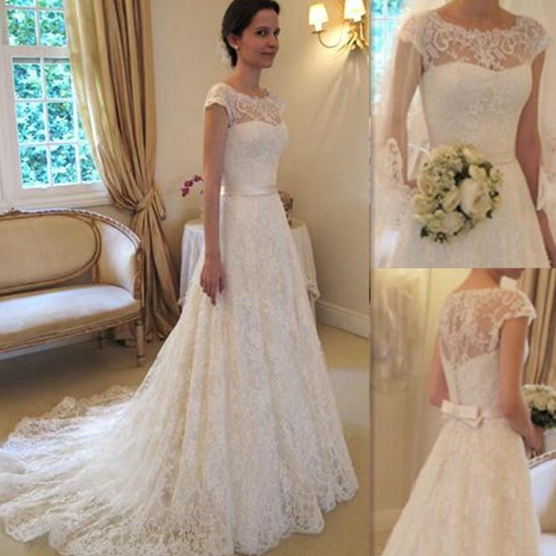 Vestidos de novia con encajes 2016