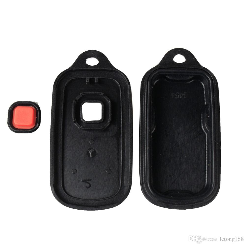Guaranteed 100% 3 Buttons Panic Replacement Keyless Remote Entry Key Shell Case Fob Repair Housing Fix Repair For Toyota